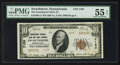National Bank Notes:Pennsylvania, Swarthmore, PA - $10 1929 Ty. 2 The Swarthmore NB & TC Ch. #7193. ...
