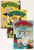Silver Age (1956-1969):Superhero, Superboy Group (DC, 1951-59) Condition: Average GD.... (Total: 21 Comic Books)