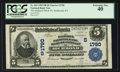 National Bank Notes:Kentucky, Richmond, KY - $5 1902 Plain Back Fr. 601 The Madison NB & TCCh. # (S)1790. ...