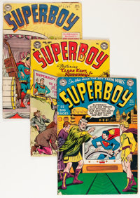 Superboy Group (DC, 1951-59) Condition: Average GD.... (Total: 7 Comic Books)