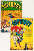 Golden Age (1938-1955):Superhero, Superboy #4 and 21 Group (DC, 1949-53) Condition: Average GD+.... (Total: 2 Comic Books)