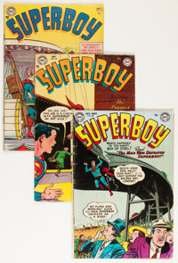 Superboy Group (DC, 1954-64) Condition: Average VG-.... (Total: 11 Comic Books)