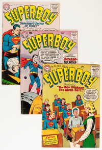 Superboy Group (DC, 1956-64) Condition: Average VG-.... (Total: 22 Comic Books)