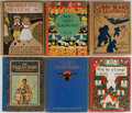 Books:Children's Books, [Children's Illustrated]. Edgar Rice Burroughs, Gelett Burgess, andOthers. Group of Six Books. Various publishers and editi... (Total:6 Items)