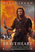 "Movie Posters:Action, Braveheart (Paramount, 1995). One Sheet (27"" X 40"") DS. Action....."