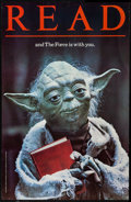 "Movie Posters:Science Fiction, The Empire Strikes Back (American Library Association, 1982).Library Poster (22"" X 34"") Yoda Style. Science Fiction.. ..."
