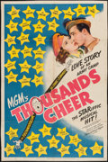 """Movie Posters:Musical, Thousands Cheer (MGM, 1943). Trimmed One Sheet (26.75"""" X 40.25""""). Musical.. ..."""