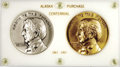 Miscellaneous Medals and Tokens, 1867-1967 Alaska Purchase Centennial Commemorative Medals....