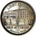 Expositions and Fairs, 1893 Columbian World's Fair and Libby Prison Museum Medal....
