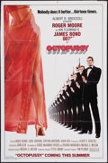 "Movie Posters:James Bond, Octopussy (MGM/UA, 1983). One Sheet (27"" X 41"") Style A, Advance.James Bond.. ..."