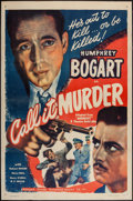 """Movie Posters:Crime, Midnight (Guaranteed Pictures, R-1947). One Sheet (27"""" X 41"""")Reissued as Call It Murder. Crime.. ..."""
