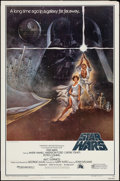 "Movie Posters:Science Fiction, Star Wars (20th Century Fox, 1977). One Sheet (27"" X 41"") Style A. Science Fiction.. ..."
