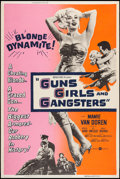 "Movie Posters:Crime, Guns, Girls and Gangsters (United Artists, 1959). Silk-Screen Poster (40"" X 60""). Crime.. ..."