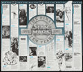 """Movie Posters:Science Fiction, Star Wars: The First Ten Years (Official Star Wars Fan Club, 1987). Time Line Poster (22"""" X 25.5""""). Science Fiction.. ..."""