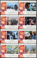 """Movie Posters:Fantasy, Willow (MGM, 1988). International Lobby Card Set of 8 (11"""" X 14"""").Fantasy.. ... (Total: 8 Items)"""