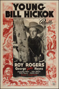 """Movie Posters:Western, Young Bill Hickok (Republic, 1940). One Sheet (27"""" X 41"""").Western.. ..."""