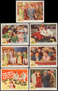 "Movie Posters:Musical, Take Me Out to the Ball Game (MGM, 1949). Title Lobby Card and Lobby Cards (6) (11"" X 14""). Musical.. ... (Total: 7 Items)"