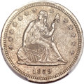 Seated Quarters, 1859-S 25C AU50 PCGS....