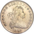 Early Dollars, 1802 $1 Narrow Date MS61 NGC. B-6, BB-241, R.1....
