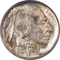 Buffalo Nickels, 1913-D 5C Type Two MS67 PCGS. CAC....