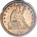 Proof Seated Quarters, 1848 25C PR66 NGC....