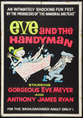 "Movie Posters:Sexploitation, Eve and the Handyman (Pad-Ram Enterprises, 1961). Day-GloSilk-Screen One Sheet (30"" X 42""). Sexploitation.. ..."