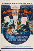 "Movie Posters:Science Fiction, Journey to the Center of the Earth (20th Century Fox, 1959). Poster(40"" X 60"") Style Z. Science Fiction.. ..."
