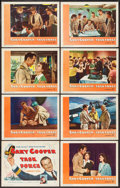 "Movie Posters:War, Task Force (Warner Brothers, 1949). Lobby Card Set of 8 (11"" X14""). War.. ... (Total: 8 Items)"