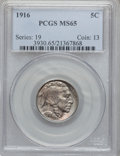 Buffalo Nickels: , 1916 5C MS65 PCGS. PCGS Population (477/184). NGC Census: (306/91).Mintage: 63,498,064. Numismedia Wsl. Price for problem ...