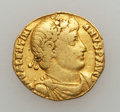 Ancients:Roman Imperial, Ancients: Valentinian I (AD 364-375). AV solidus (2.88 gm)....