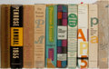 Books:Books about Books, [Books About Books]. The Penrose Annual. Group of 10 Volumes. Hastings House, 1954-1964. Volume for 1963 is not ... (Total: 10 Items)
