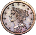 Proof Braided Hair Half Cents, 1856 1/2 C PR63 Brown PCGS. CAC. B-3, R.4....