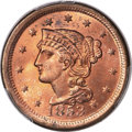 1853 1C MS66 Red PCGS Secure. N-25, R.1....(PCGS# 1903)