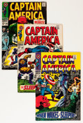 Silver Age (1956-1969):Superhero, Captain America Group (Marvel, 1968-72) Condition: Average VG+.... (Total: 23 Comic Books)