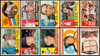 1960 Topps Baseball Near Set (502/572)