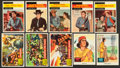 Non-Sport Cards:Lots, 1950's Topps and Fleer - Western Theme Card Collection (62). ...