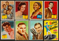 Non-Sport Cards:Lots, 1950's-60's Topps, Fleer & Bowman Movie Stars & MusicCollection (55) Plus Wax Pack. ...