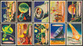 """Non-Sport Cards:Sets, 1957 R714-20a Topps """"Space Cards"""" Partial Set plus Extras (42). ..."""