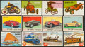 Non-Sport Cards:Lots, 1950's Topps, Bowman & Top-Top Bread - Automobiles Collection(115). ...