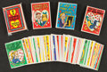 "Non-Sport Cards:Sets, 1959 & '60 Topps ""Funny Valentines"" Collection (95+ Three Cellopacks). ..."
