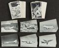 Non-Sport Cards:Lots, 1960's Exhibits Aircraft and Space Collection (136). ...