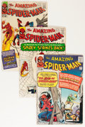 Silver Age (1956-1969):Superhero, The Amazing Spider-Man Group (Marvel, 1964-67).... (Total: 6 Comic Books)