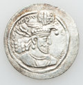 Ancients:Oriental, Ancients: SASANIAN KINGDOM. Hormizd II (AD 303-309). Lot of two (2) AR drachms (3.94 and 4.25 gm).... (Total: 2 coins)