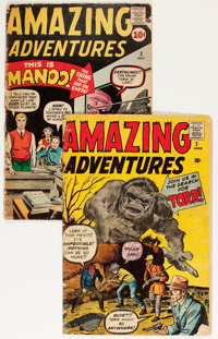 Amazing Adventures #1 and 2 Group (Marvel, 1961).... (Total: 2 Comic Books)