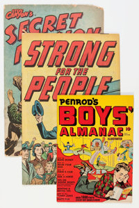 Promotional Comics Short Box Group (Various Publishers, 1940s-60s) Condition: FR