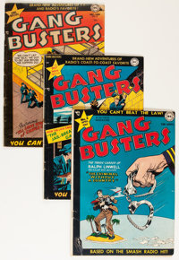Gang Busters Group (DC, 1948-55) Condition: Average GD/VG.... (Total: 7 Comic Books)