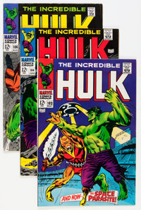 The Incredible Hulk Group (Marvel, 1968-71) Condition: Average FN.... (Total: 38 Comic Books)