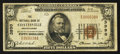National Bank Notes:Pennsylvania, Coatesville, PA - $50 1929 Ty. 1 The NB of Coatesville Ch. # 3990. ...
