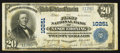 National Bank Notes:Pennsylvania, Nesquehoning, PA - $20 1902 Plain Back Fr. 654 The First NB Ch. #10251. ...