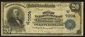 National Bank Notes:Colorado, Fort Morgan, CO - $20 1902 Date Back Fr. 642 The First NB Ch. #(W)7004. ...